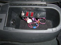 glove box switches
